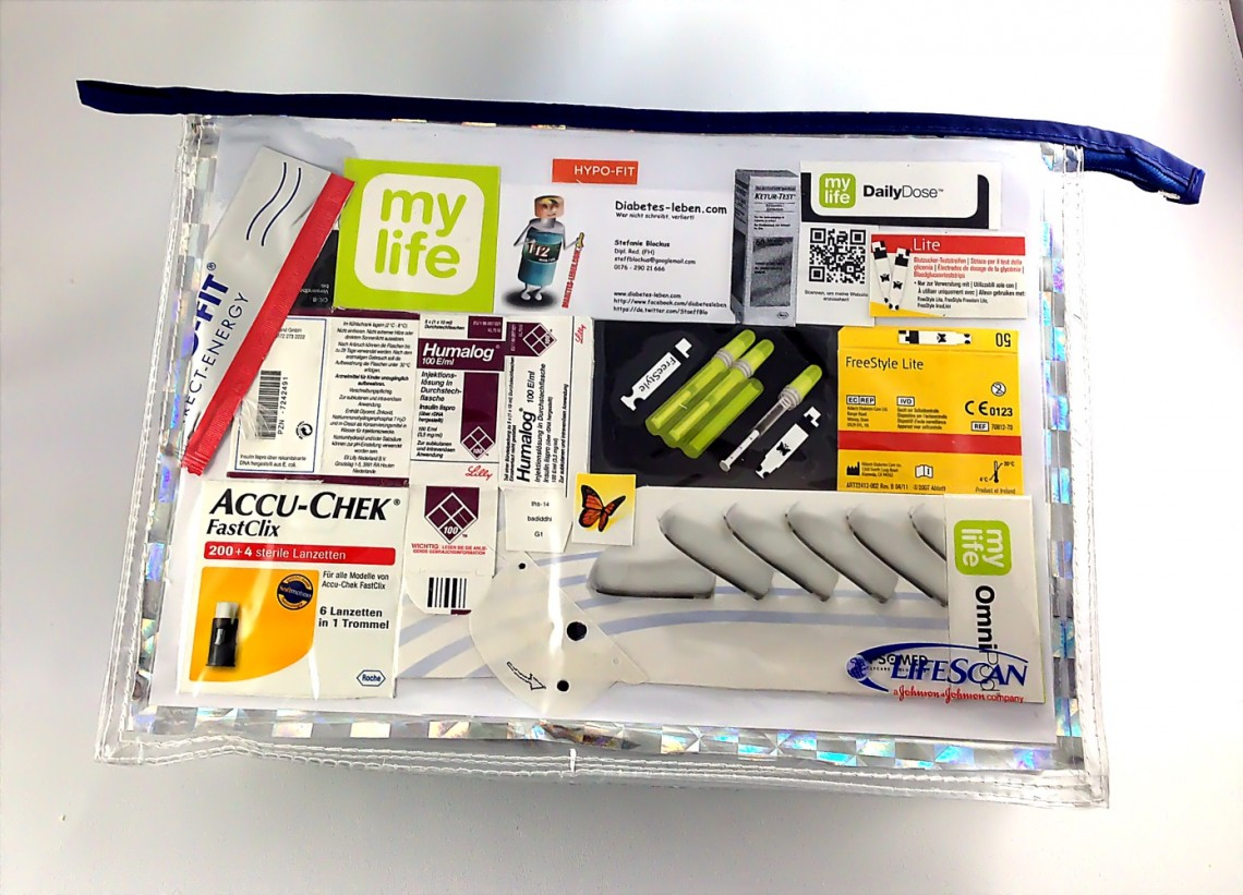 Besserwisser Diabetes-Utensilien-Tasche