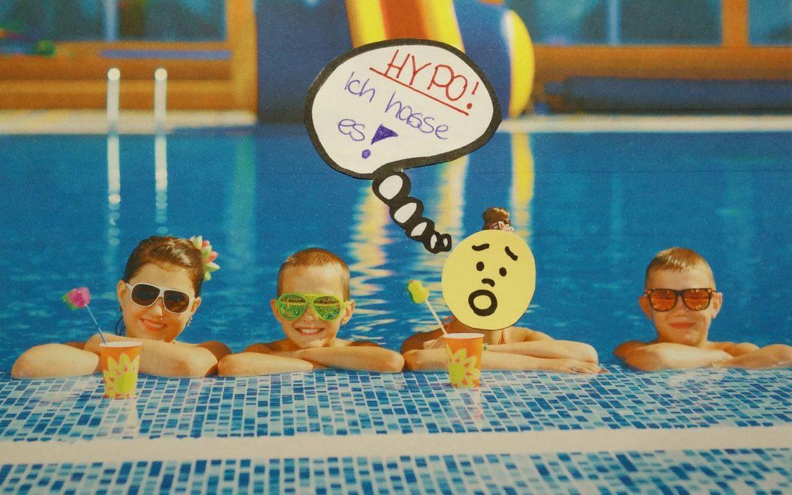 Schwimmen Hypo