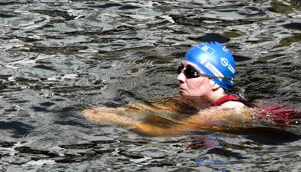 Schwimmen von Ilka