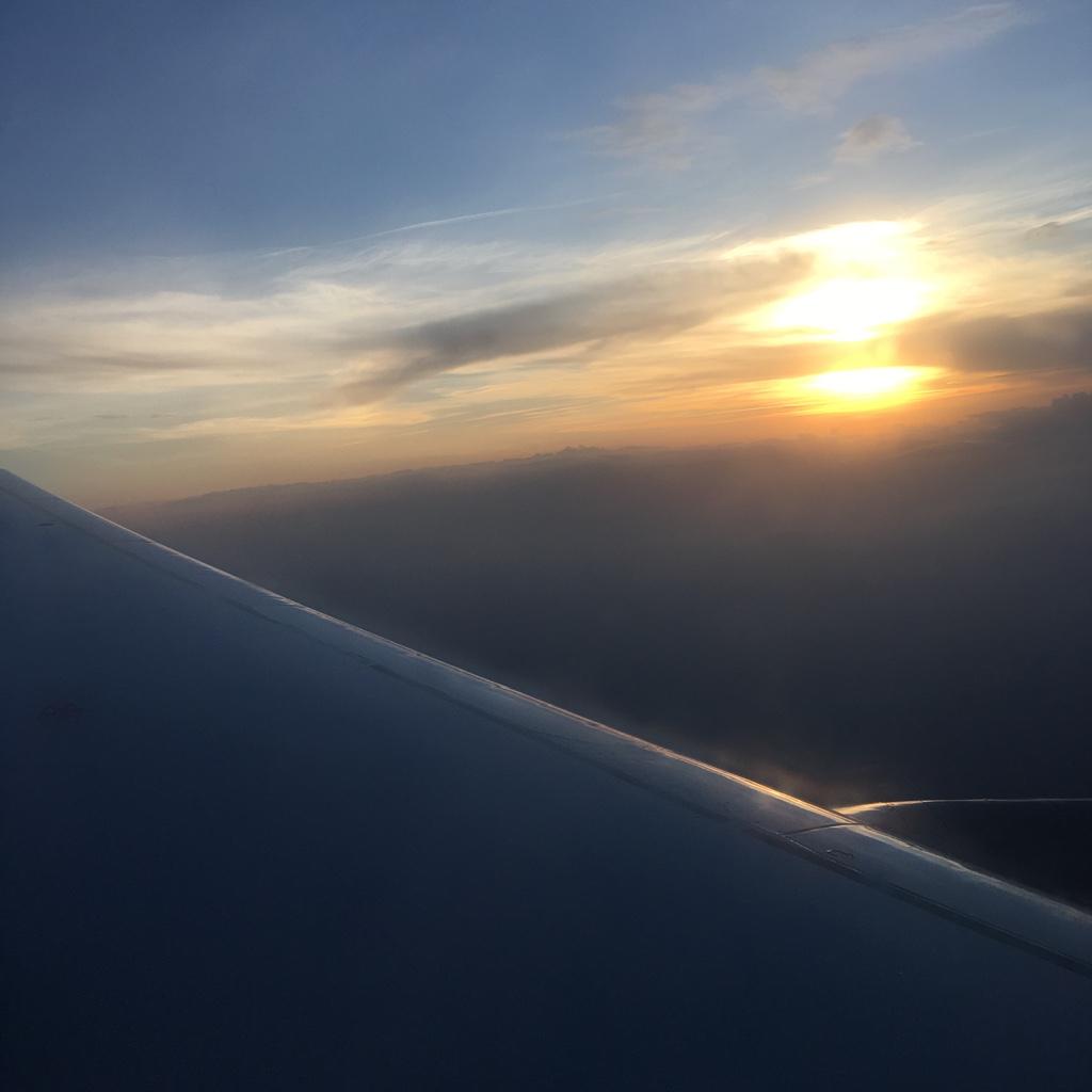 Flugzeug Rückflug