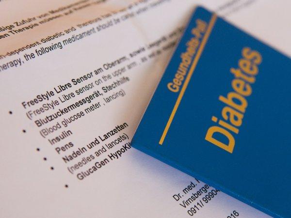 Gesundheitspass Diabetes