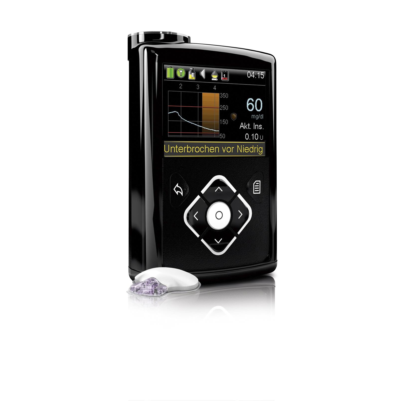 11 Gr 252 Nde F 252 R Die Minimed 640g Und Den Enlite Sensor