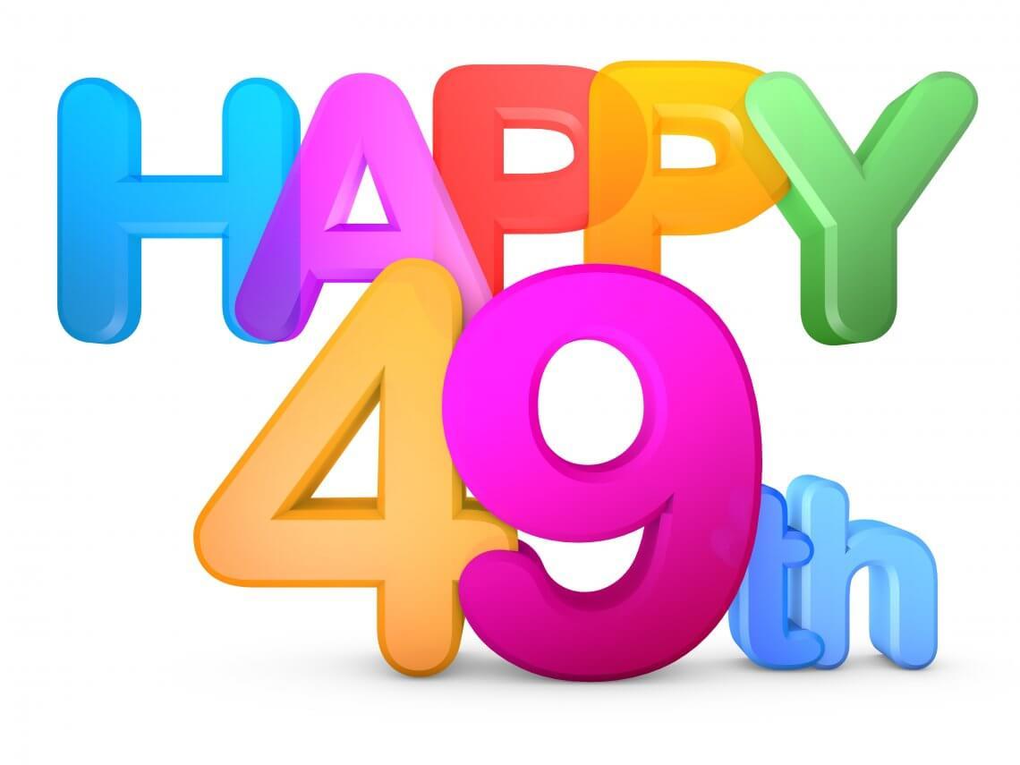 Happy 49th
