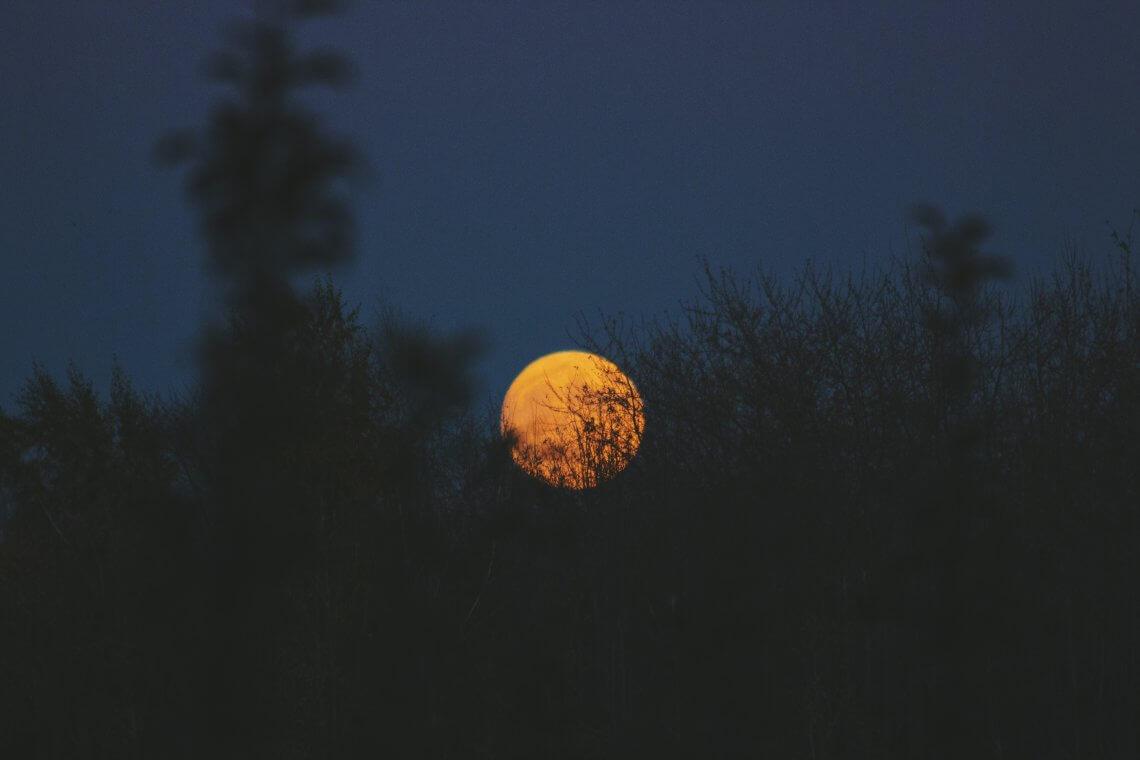 Der Mond scheint durchs Fenster, aber Schlaf ist nicht in Sicht.