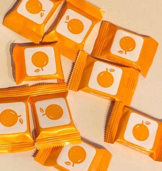 Einzeln verpackter Traubenzucker von DiaExpert