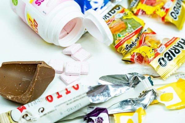 Fressflashs während Unterzuckerungen sind unberechenbar / Traubenzucker und Süßigkeiten