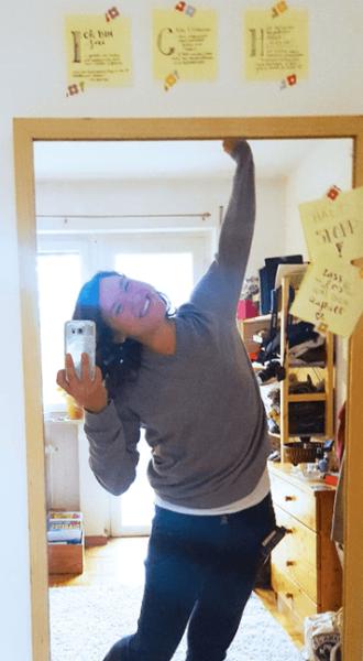 Selfie von Annika: Selbstliebe