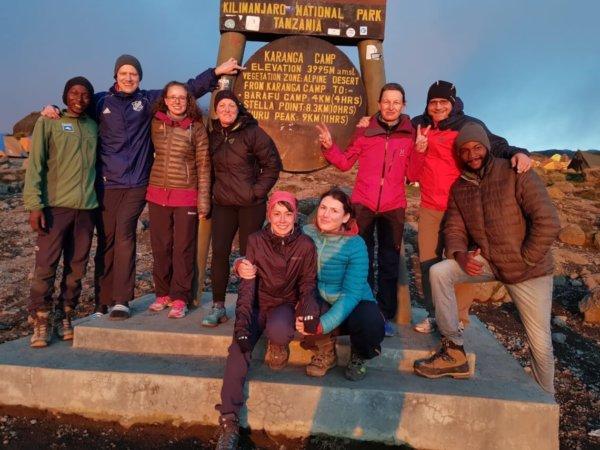 Mit Diabetes auf den Kilimandscharo - Angekommen im Camp