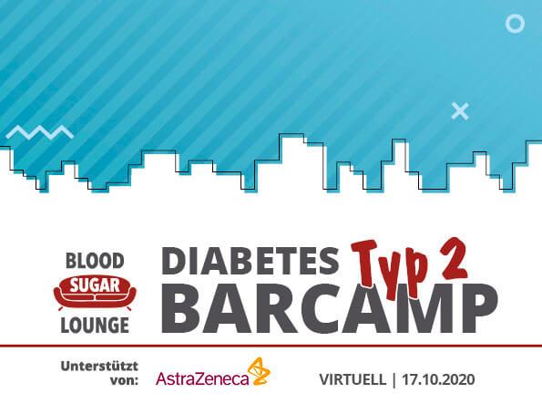 Am 17.10.2020 findet das erste virtuelle Barcamp für Menschen mit Typ-2-Diabetes statt. Sichert euch eure Tickets!