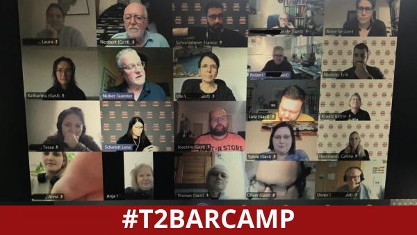 T2Barcamp, die Teilnehmer*innen